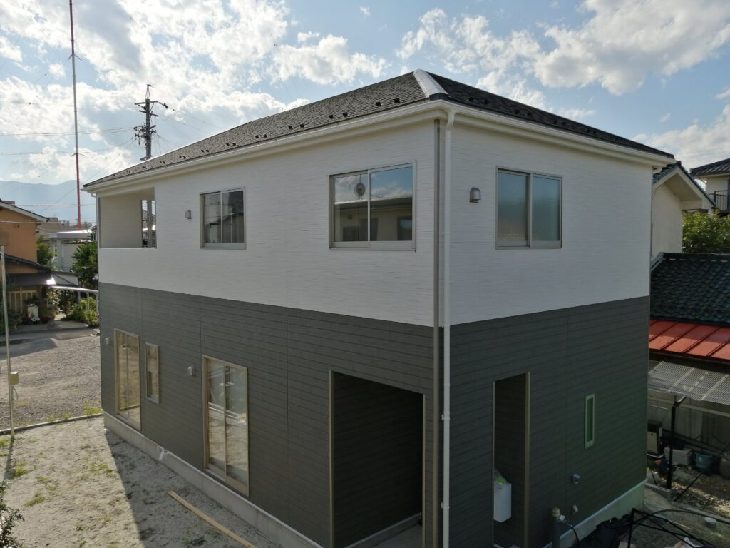 松本市島立の新築建売住宅8月完成予定
