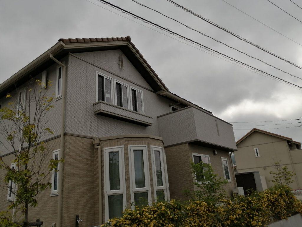 松本市沢村のスマートハイムシティに建つ新築住宅