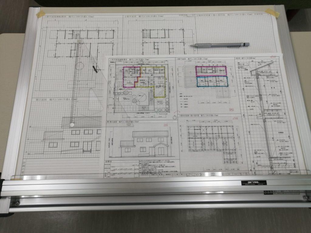 宅建士勉強中の図面