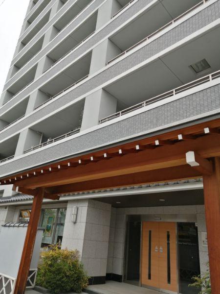 松本市繩手通りにある管理の行き届いたマンション