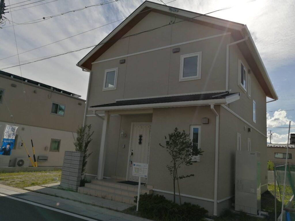 お預かりしている松本市水汲の新築建売住宅