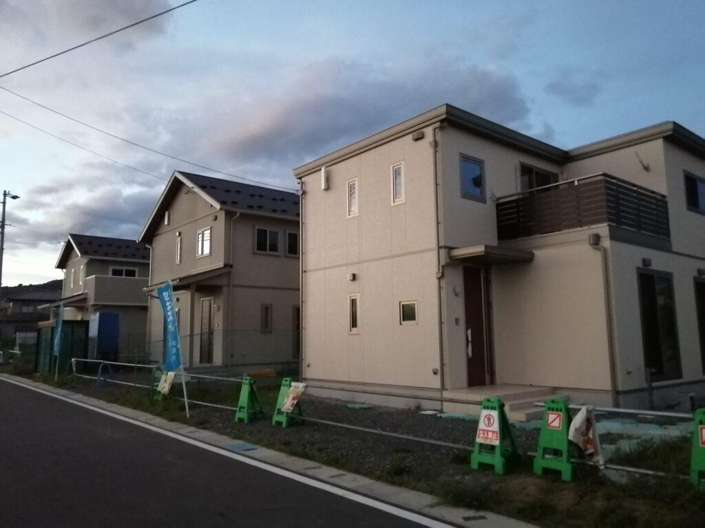 松本市惣社にあるセキスイハイム様建売住宅