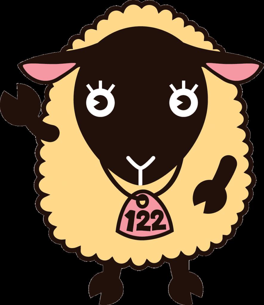 信州新町イメージキャラクター「めん子ちゃん」