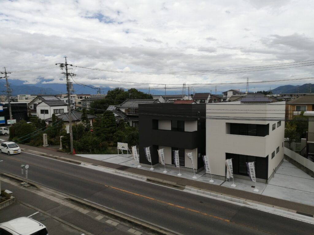 松本市島立のフィリックスハウス分譲住宅2棟販売中