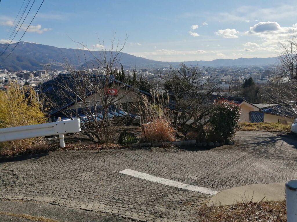 松本平の眺望がすばらしい城山地区宮渕3丁目の売土地