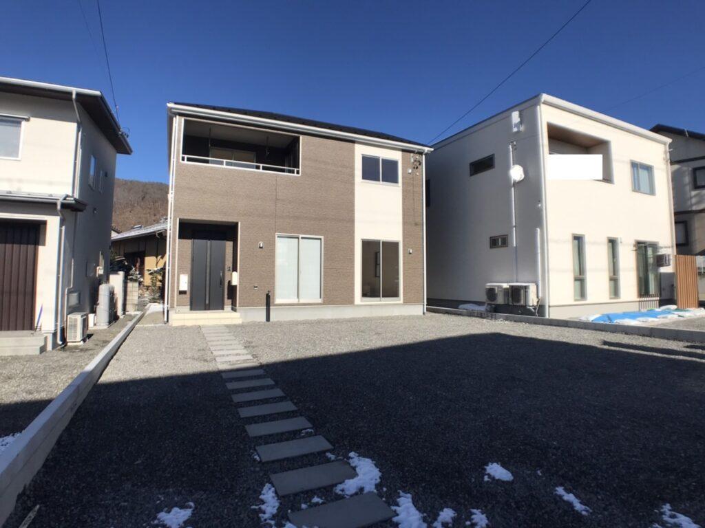 イーストヒル山辺アーネストワン新築分譲住宅1号棟(外観)