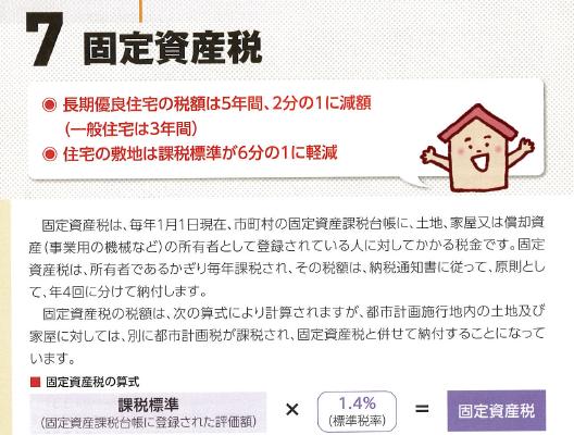 固定資産税の軽減対象
