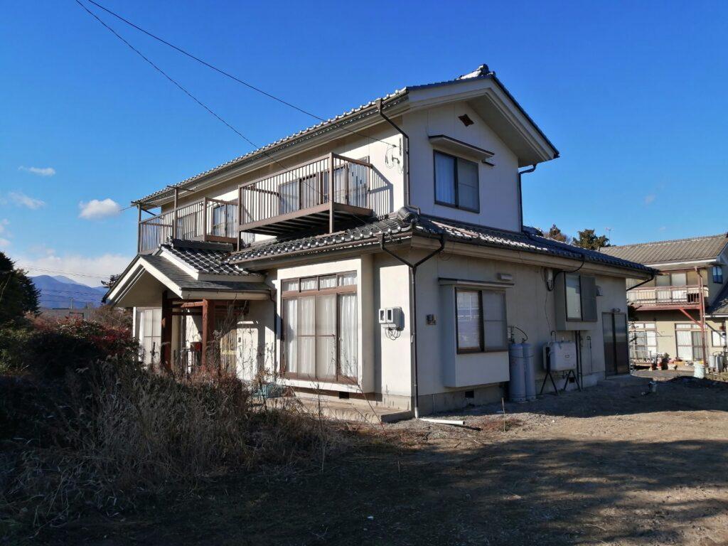 松本市今井にある住宅診断実施済の物件