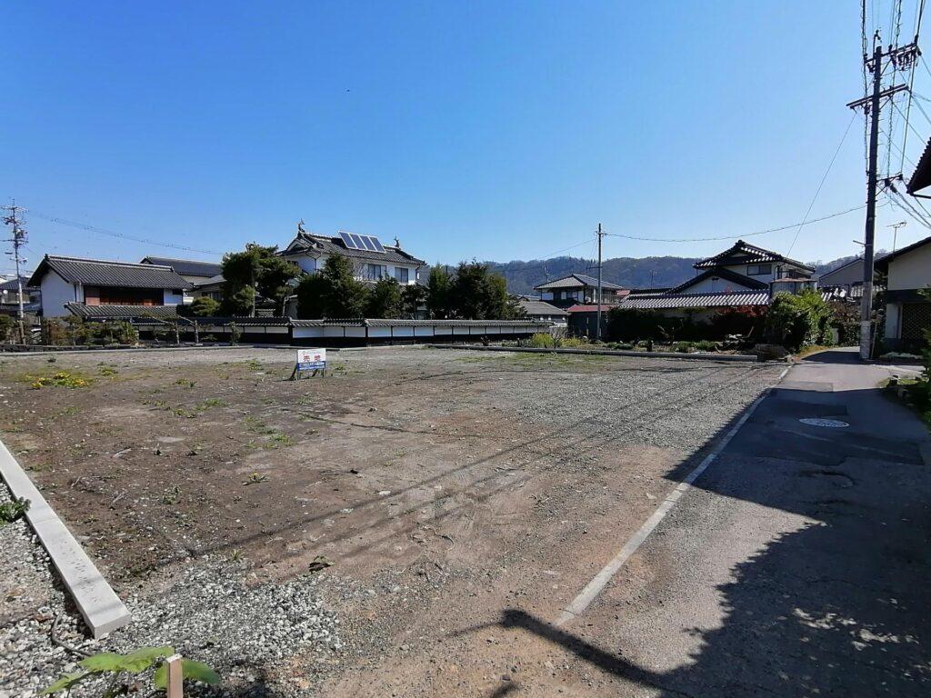 松本市島内の建築条件なし土地