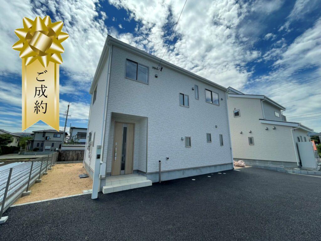 クレイドルガーデン松本市波田第3新築分譲住宅ご成約