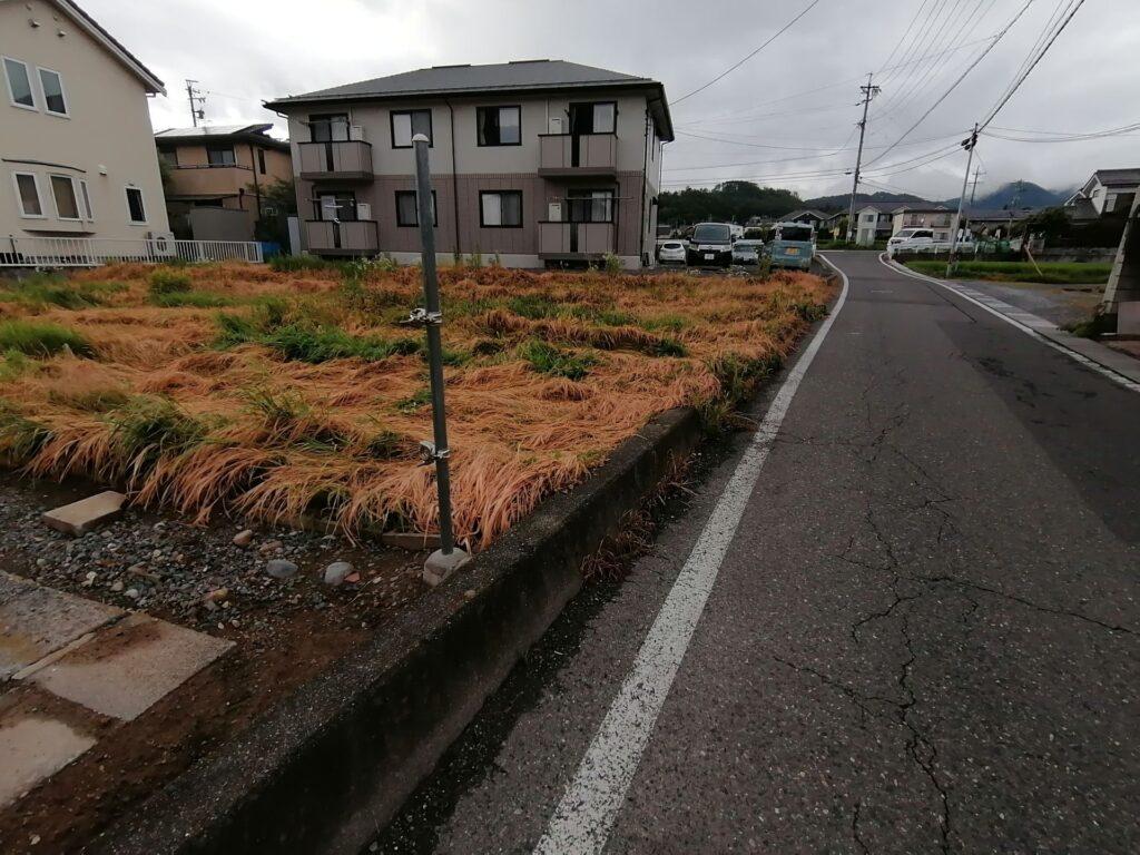 松本市岡田松岡にある約100坪の住宅用地