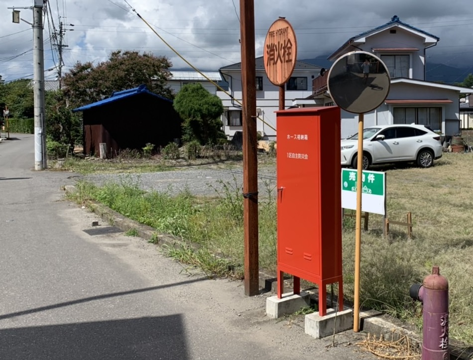 松本市郊外にあるとある分譲地