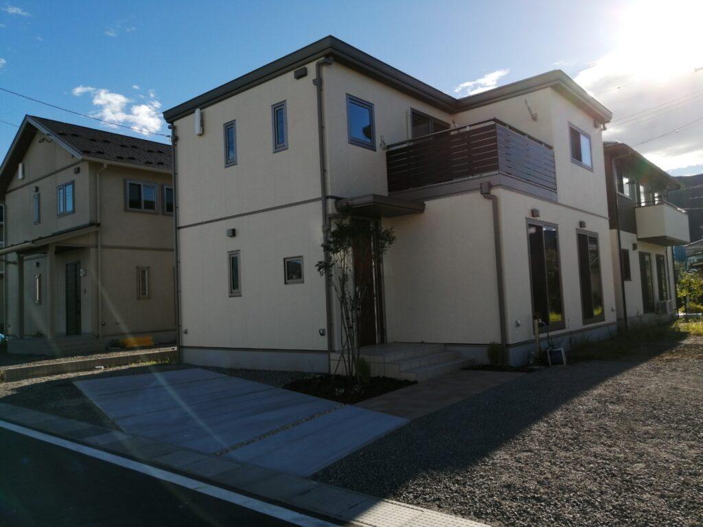 松本市惣社にあるセキスイハイムの建売住宅