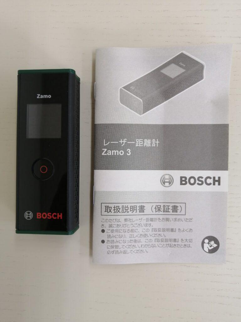 BOSCH製のレーザー距離計